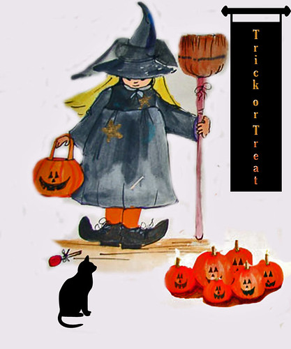 Little-Witch-card-with-cat 2