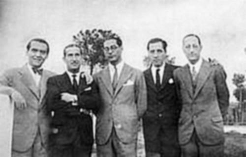 Pepin Bello con Lorca en Toledo