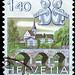 Helvetia Gemini Postage Stamp