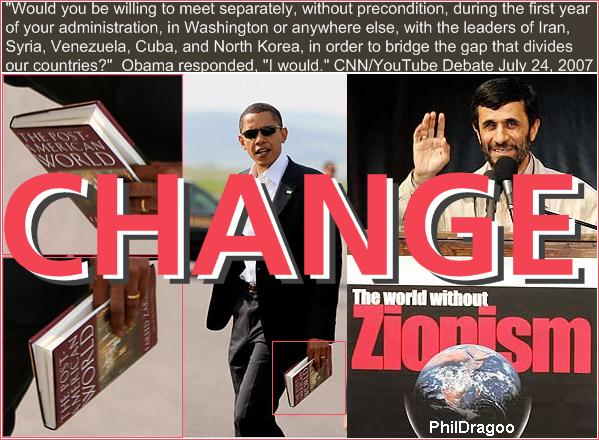 Obama Ahmadinejad