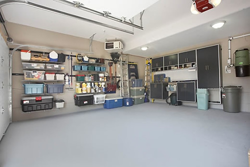 Garage Makeover After
