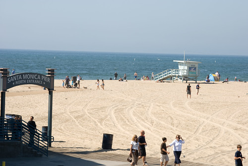 Santa Monica Pier and Beach 53