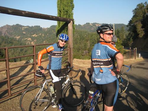 Frank & Kyle Near Summit