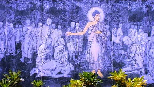 Buddha Preaching the Dhamma