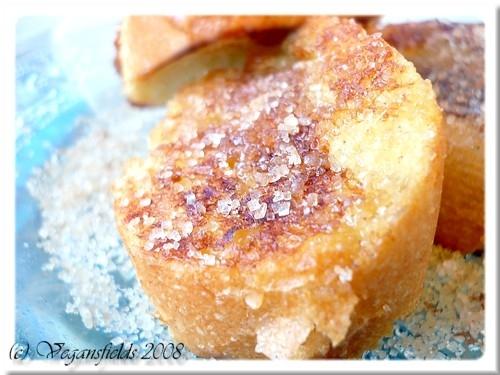 Gateau de pain perdu sans oeuf