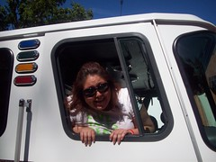 me in the fire truck