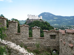 Festung Hohensalzburg viewed from Richterhoehe