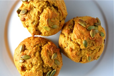 twd: pumpkin muffins