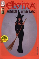 Elvira, Mistress of the Dark #151 cover