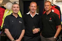 Joe Waugh, Alan Shearer and Richard Hemington