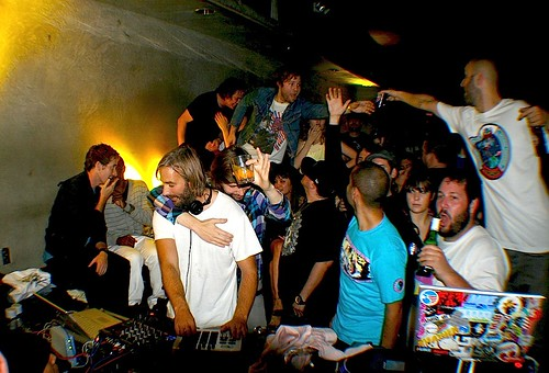 2008.11.02 / DJ Falcon / Banana Split Sundaes 2yr Anniversary