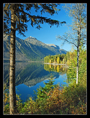 Lake McDonald reflections - Glacier Park (sjb4photos) Tags: autumn reflection montana glacierpark lakemcdonald anawesomeshot theunforgettablepictures ultimatemountainshots absolutelystunningscapes