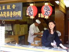 Selling waffles