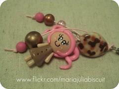 Chaveiro (Alane  maria julia biscuit) Tags: cute cores handmade artesanato artesanal biscuit fofo cor colorido porcelana porcelanafria feitoamao