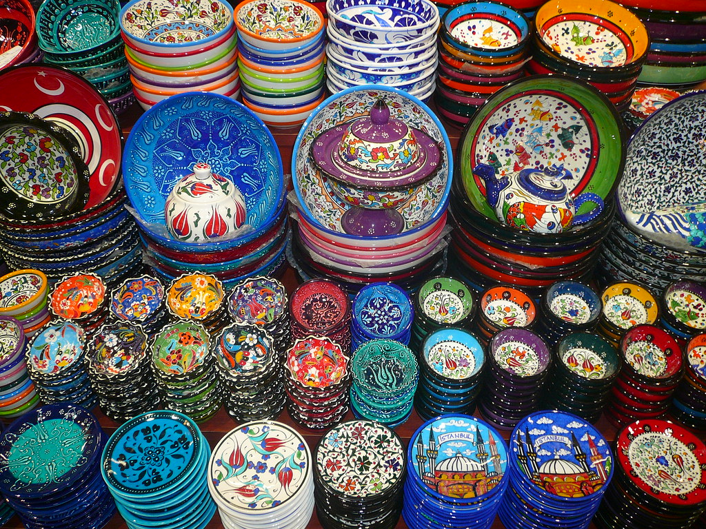 Wares at the Grand Bazaar