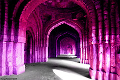 A Palace that was (Anurag Prashar) Tags: park india monument ruins colours shadows delhi palace qutub newdelhi archeological anurag d300 prashar ilovemypics
