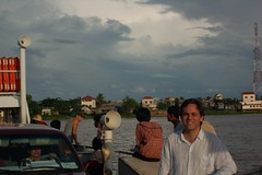 Me and the Mekong Ferry