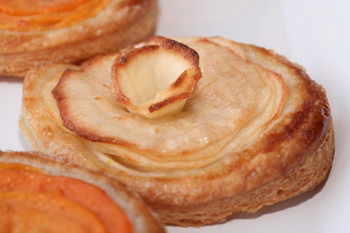 Persimmon & Apple Puff Pastry Tart