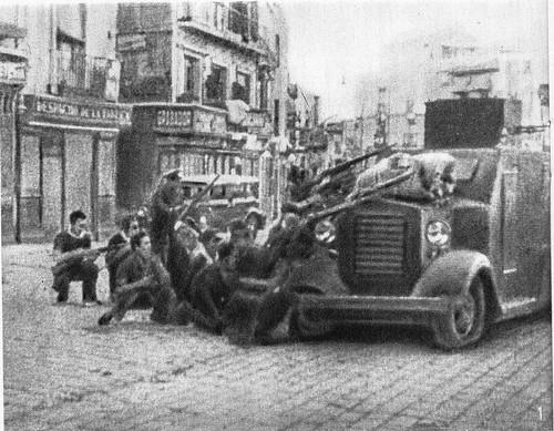 Combates en Zocodover. 22 de julio de 1936