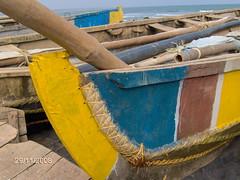 INDIA-VIZAG- BARCA DA PESCA (GIANNIMARE) Tags: india barca lo con vizag spago cucita cucitaconlospago
