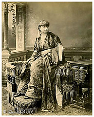 An Elite Egyptian Lady In Cairo In 1860's (Tulipe Noire) Tags: africa egypt middleeast egyptian