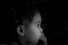 Baby Girl (David Camerer) Tags: bw iso800 olivia pentax naturallight da1645mm december2008