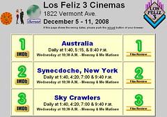 081208 - 嶄新動畫版『鋼之鍊金術師』確定明年4月首播。劇場版『空中殺手 The Sky Crawlers』搶先在洛杉磯的戲院上映,總算確保奧斯卡金像獎的入圍資格