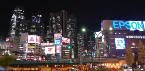 Shinjuku at nite