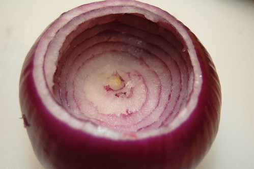 Hollow Red Onion