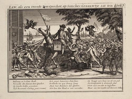 008-La ley como otro Don Quijote se sienta sobre el trasero de Sancho haciendo de todos unos tontos