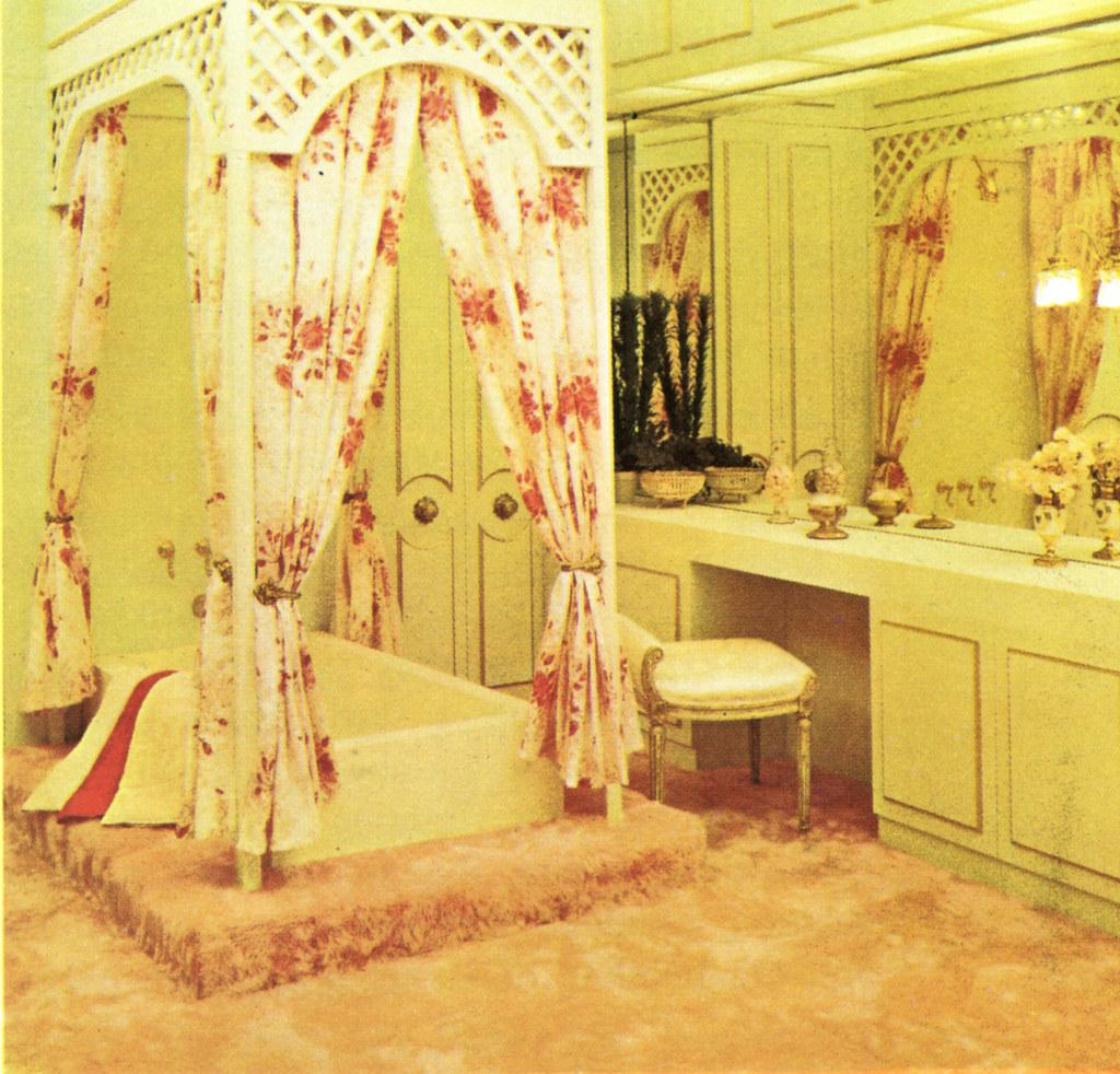 A Canopied Bathtub?