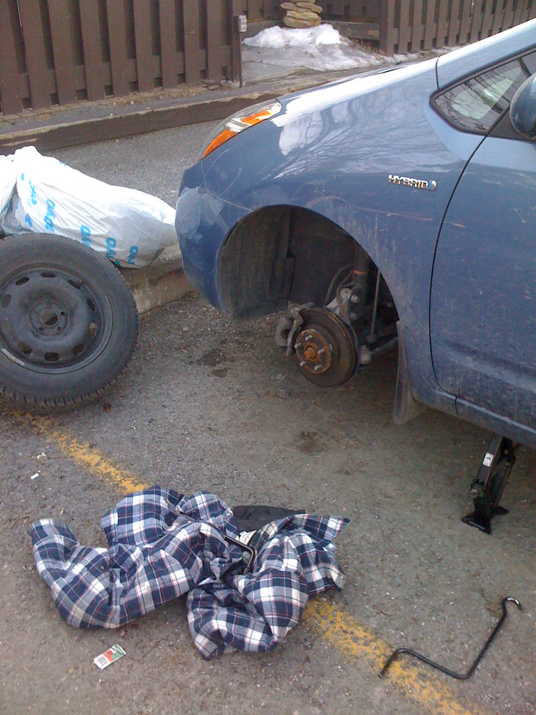 Changing the Tires
