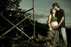 Family Underconstruction (Franca Alejandra) Tags: family portraits parents mother pregnancy belly f motherhood embarazo retratosv