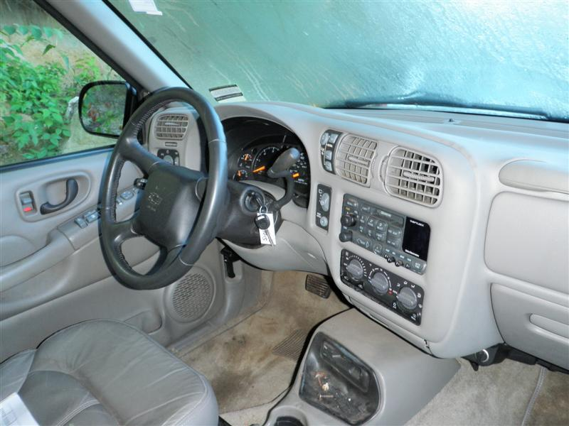 2002 Chevy Blazer Interior Parts