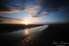 Southport Smoothie (Martin_Finlayson) Tags: sunset sea motion water clouds coast nikon raw gimp le ripples tamron southport d300 30secs 10stop nd110 1024mm 14bit