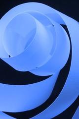 Papier 3    Isabelle Langlois (Isabelle Langlois1) Tags: blue canada macro up lines closeup canon paper studio aperture quebec curves explore isabelle langlois