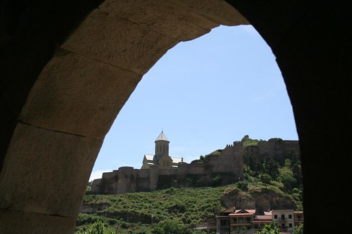 Fortaleza Narikala em Tbilisi