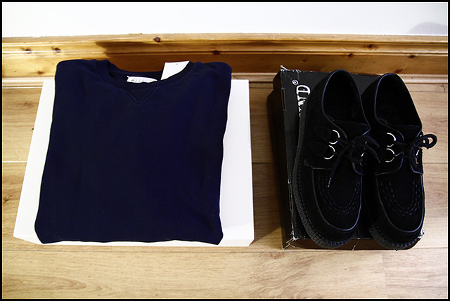Tuukka13 - Maison Martin Margiela Sweatshirt and Underground Creepers - Sneak Preview - 1