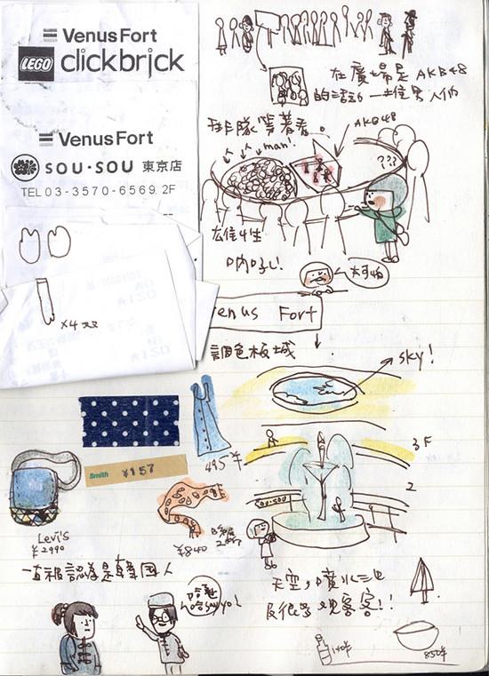 [本子。日本]DAY 12。台場。富士電視台。venus fort