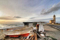 Old times (cuellar) Tags: sunset sea españa beach geotagged atardecer mar spain mediterranean mediterraneo playa cuellar almeria cabodegata nijar supershot superbmasterpiece capegata geo:lat=36750697 geo:lon=2218498