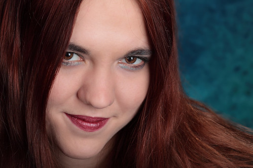 Aubrie closeup portrait