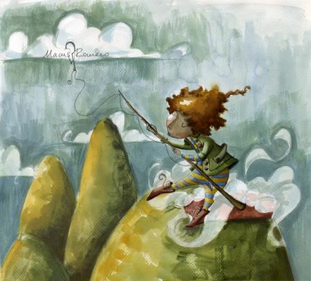 el pescador de nubes