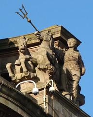 Amphitrite (Mac ind Óg) Tags: sculpture horse statue architecture scotland spring seahorse glasgow goddess mythology trident nereid amphitrite oceanid