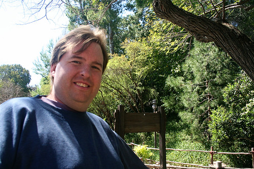 Mike, outside Big Thunder Ranch