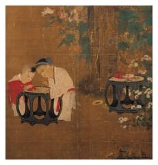 Niños jugando en un jardin otoñal (parte)- Dinastia Sung 960-1279- Su han Ch'ien- tamaño 158X108 cms