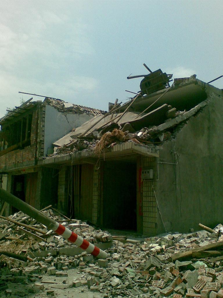 Ruined Houses at Tongji, Pengzhou