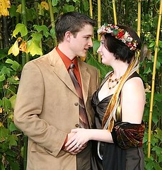 "Irish ""Fairy Tale"" Wedding in the Enchanted Forest"