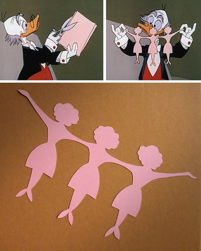 Ludwig Von Drake's Paper Dolls