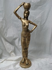 Boneca Africana Gr. (Digo Pessoa) Tags: bonecas arte afro artesanato imagens decoração gesso pinturas africanas decorativo