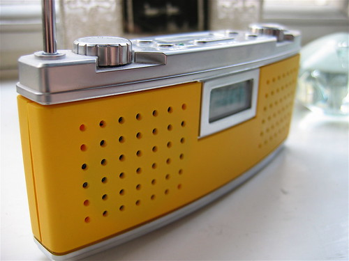 Little yellow radio